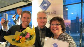 Teijlers Glas i Örebro är utsedda till årets företag i glasbranschen
