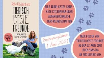 Merkwürdige Tierfreundschaften - Kate Kitchenham über das wunderbare Phänomen der artübergreifender Zuneigung