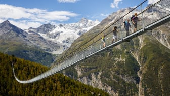 Die längste Hängebrücke der Welt ©Valentin Flauraud