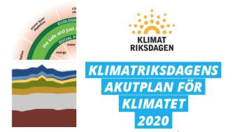 Klimatriksdagens Akutplan för klimatet går ut på remiss!