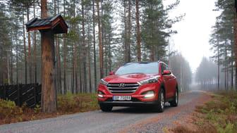 Hyundai Tucson leveres med en moderne dobbeltclutch girkasse (DCT)