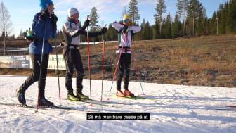 «En fantastisk måte å bli en bedre skiløper på.»