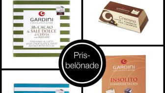 Prisbelönad choklad från bröderna Gardini