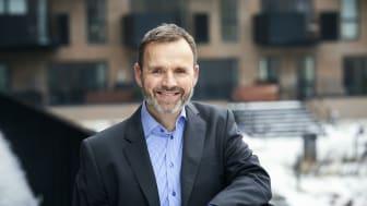 Med stærk brancheerfaring indtager Thomas Kempf rollen som adm. direktør i Forenede Service 1. maj 2021. Han overtager ansvaret fra Hans Fog, der forlader virksomheden efter 27 år. Foto: Jesper Blæsild