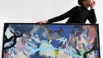 Konstnären Magda Lundberg utforskar beslutstagande i utställning på Miss Clara