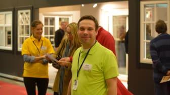 Kommunchef Fredrik Löfqvist på Hem & Villa