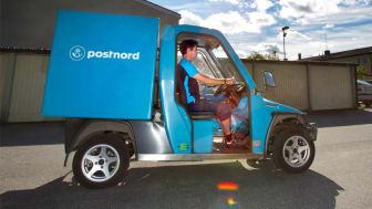 PostNord Sverige väljer Comarth som sitt nya arbetsfordon