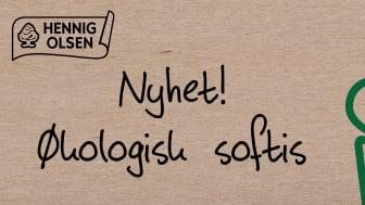 Hennig-Olsen Is med Norges første økologiske softis
