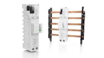 VARITECTOR PU ZP Avancerat överspänningsskydd och blixtskydd uppfyller kraven enligt IEC/EN 61643-11. Bildkälla: Weidmüller