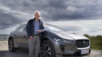Er Kristian verdens ældste Jaguar I-PACE ejer ?