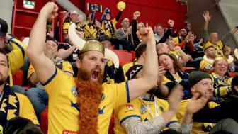 Två tusen hantverkare tog plats på Beijerläktaren under de tre dagarna av Beijer Hockey Games.