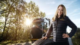 Karin Jedselius Ambassadör Continental Däck Sverige