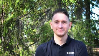 Aleksandar Milosevic, ansvarig för yrkesklättrarna på Klätterteknik