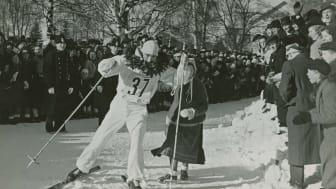 Arthur Häggblad vinner Vasaloppet 1940