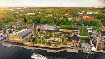 Så här skulle ett nytt tivoliområde på parkeringen kunna se ut