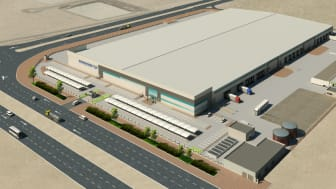 New Logistics Manufacturing Services center  in Dubai South