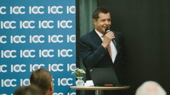 Fredrik Cappelen tar plats i ICC:s globala styrelse, ICC Executive Board