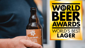 Karlsberg naturtrübes Kellerbier wurde beim World Beer Award ausgezeichnet. Foto: Karlsberg