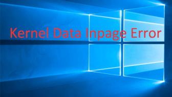 Kernel Data Inpage Error