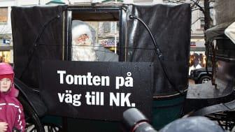 På söndag premiärvisas NK:s julskyltning i Göteborg.