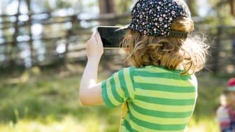 Barn spelar Skogsmulle & naturboken