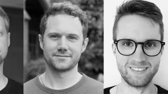 Grundare Oterlu AI - Ludvig Gee, Alexander Gee och Sebastian Nabrink.