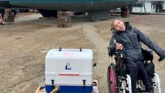 Hi-res image - Fischer Panda UK - Fischer Panda UK has donated a generator for Natasha Lambert's Atlantic crossing on 'Blown Away'