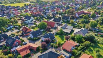 Danske husholdningers totale energiforbrug faldt med 4,7 pct. fra 2019 til 2020. Foto: Shutterstock. Alle rettigheder forbeholdt.