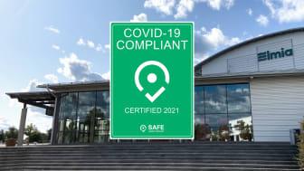 Elmia - nu covid-19-certifierad