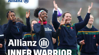 Allianz Insurance reveals the return of Inner Warrior rugby camps for women and girls