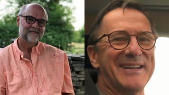 Torben Grut och Tommy Brismo, utbildare på utbildningen IT-projektledare på Nackademin.