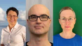 Karin Starzmann, Martin Biström och Irene Håkansson - mottagare av Lennmalms pris 2021 och Lennmalms medalj i silver