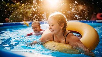 Spara på dricksvattnet när du fyller din pool