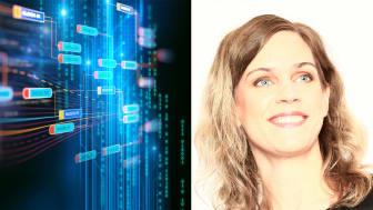 Gisela Edendahl från IBM kommer i samband med Umeå Tech Arena den 28 november ge en djupare inblick i hur blockchain kan användas inom olika branscher. Bilden är ett montage.
