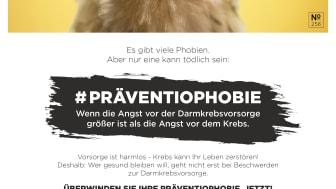 Anzeigenmotiv Huhn der Kampagne Präventiophobie