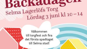 Första spadtag för Selma stad på Backadagen 3 juni