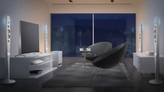 Новые модели домашних кинотеатров Sony серии N9200W с поддержкой 4К- и 3D-форматов.