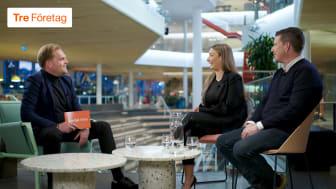 Trevligt möte - Christian Albinsson, Joceline Akgün och Pontus Frithiof