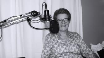 Ulrika Stuart Hamilton, generalsekreterare för Famna - riksorganisationen för idéburen välfärd, medverkar i Skyddsvärnet podcast. Foto: Skyddsvärnet