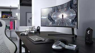 Samsungs nye spillskjermer Odyssey G9 og G7 lanseres nå i Norden