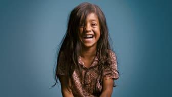 Tillsammans kan vi få fler barn i världen att skratta.