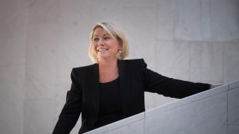 Kommunal- og moderniseringsminister Monica Mæland er blant de nordiske ministrene som har signert erklæringen. Foto: Torbjørn Tandberg