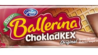 Ballerina lanserar chokladtäckta rån – klarar du att endast äta en?