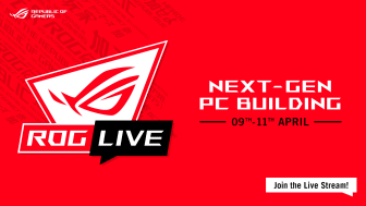 ASUS Announces ROG Live Next-Gen PC Building - Live from Stockholm