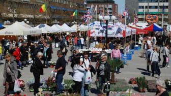 Internationell Matmarknad på Fristadstorget