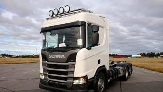 Lastbilen av typen Scania R 410 B6x2*4NB