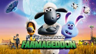 Lördagen den 5 oktober visas nya Fåret Shaun-filmen Farmageddon på Skånes Djurpark.