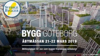 Sverige Bygger bjuder dig till BYGG GÖTEBORG på Åbymässan 21-22 mars