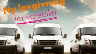 Fra 1. januar 2019 skal alle vognmænd have en vognmandstilladelse, og chaufførerne i varevognene skal have en uddannelse.
