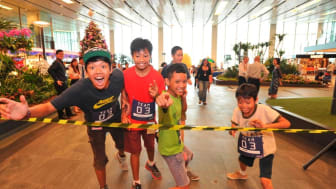 Changi Foundation's donation to The Straits Times Pocket Money Fund 3
